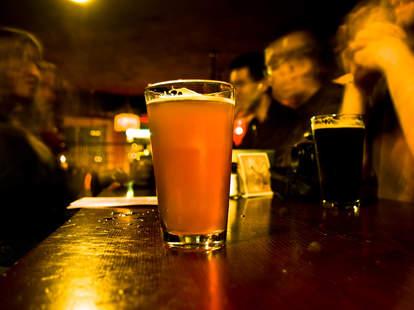 dive bar beer