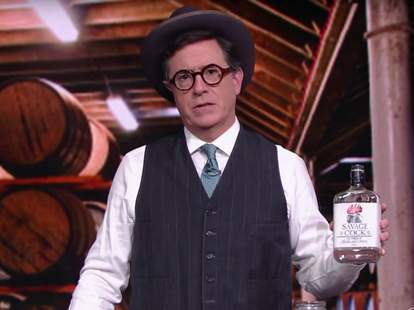 Stephen Colbert Wild Turkey Parody