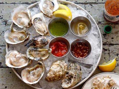 city crab shack oyster platter