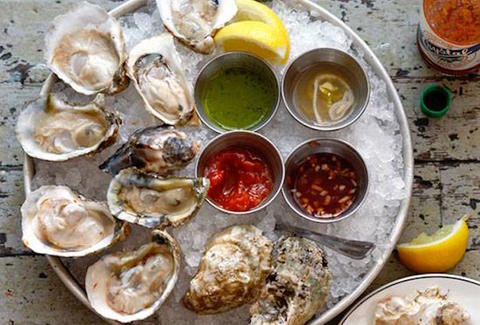 city crab shack oyster platter