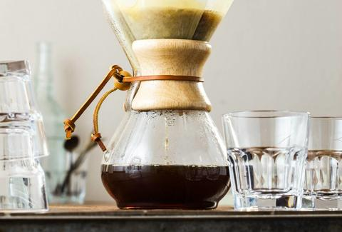 the coffee virus chemex brew