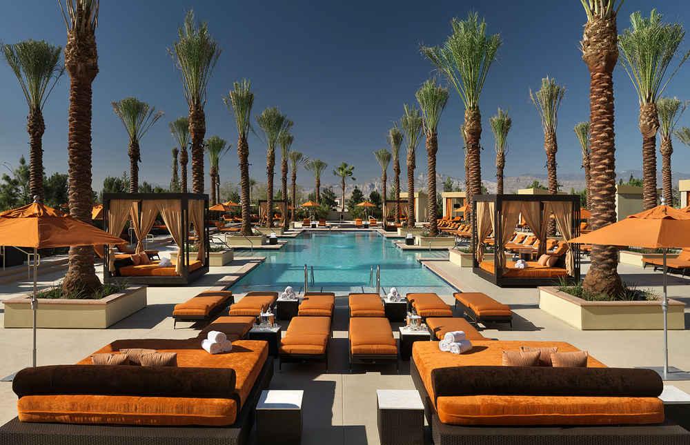 The 48 Best Pools In Las Vegas Thrillist Cool 2 Bedroom Suites Las Vegas Strip Concept Painting