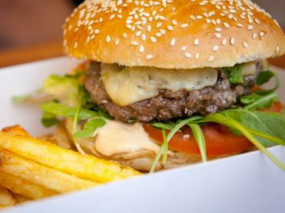 Cantine California burger Paris