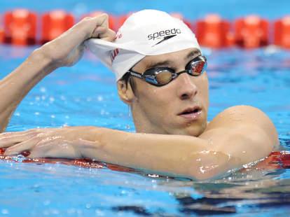 Michael Phelps Swim Cap