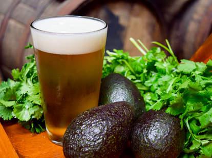Avocado beer