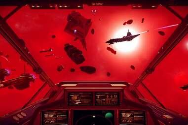 no man's sky screenshot red space