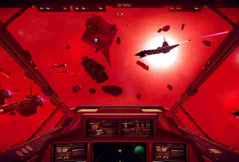no man's sky screenshot red space