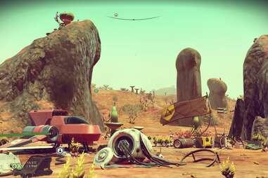 no man's sky screenshot planet