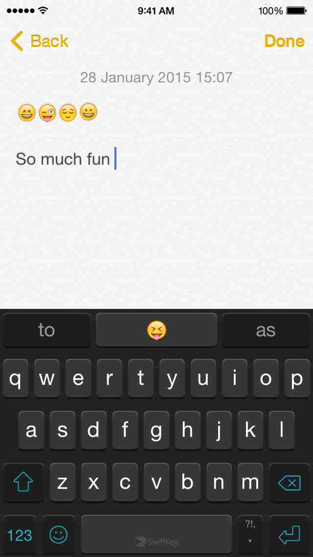 swiftkey keyboard app for ios