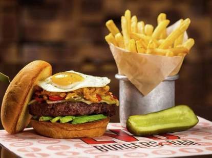 Great burgers and New American food at LVB Burgers & Bar in the Mirage Hotel Las Vegas
