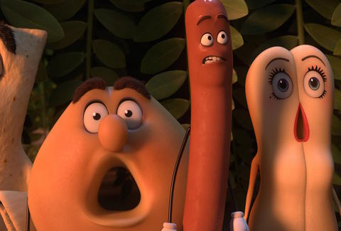 sausage party - new in theaters
