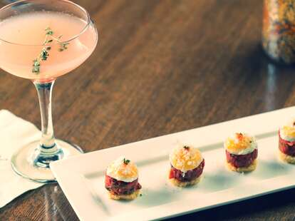 Great cocktails and tapas at Beauty & Essex Las Vegas