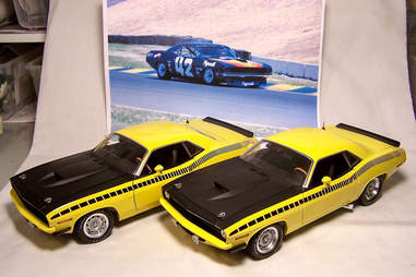 Diecast Model Plymouths before Customization