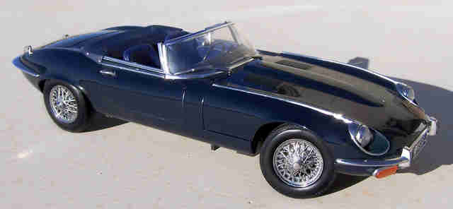 Jaguar XKE Model