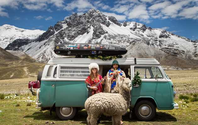 This Couple Quit Their Jobs and Drove a VW Van to Argentina