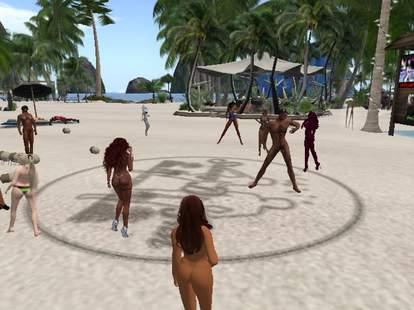 Still from Second Life