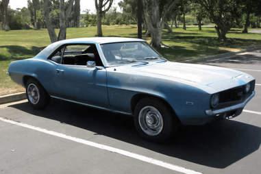 1969 Camaro Garage Find