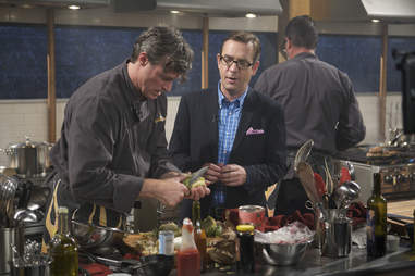 Chopped episode taping