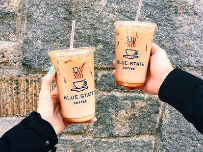 blue state iced coffees