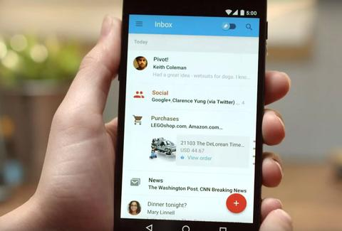 inbox by gmail app on android