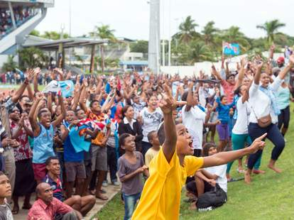 Fiji Rugby Celebration