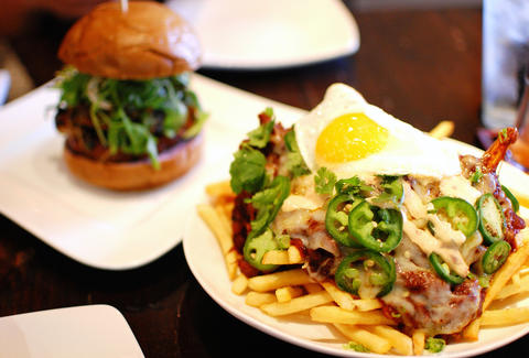Great Asian-inspired burgers at Bachi Burger in Las Vegas