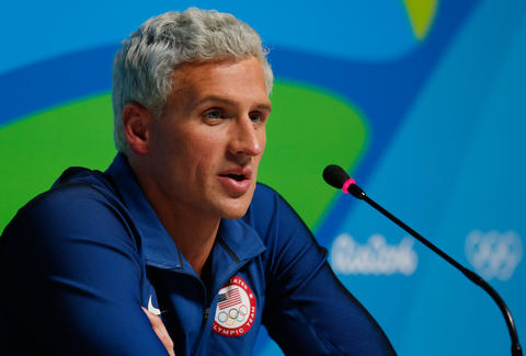 Ryan Lochte robbed