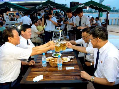 north korean beer festival