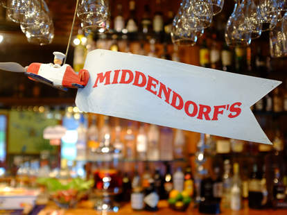 Authentic Creole food and great seafood at Middendorf's in New Orleans