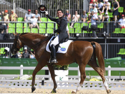 Horse Dances to 'Smooth' Rio 2016 Olympics