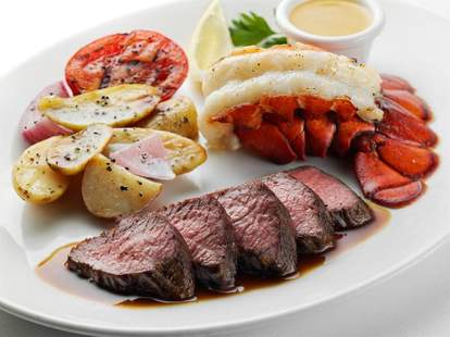 steak and lobster from mccormick & schmick's