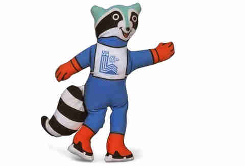 Olympic Mascot Roni Lake Placid
