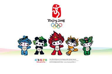 Olympic Mascots Beijing