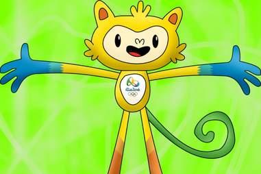Olympic Mascot Rio 2016