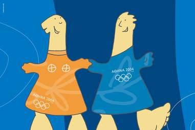Olympics Athens Mascot