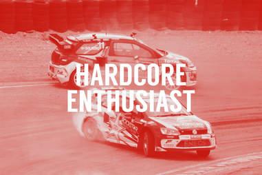 Hardcore enthusiast car guy