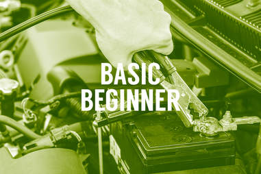 Car beginners jumper cable