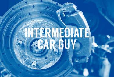Intermediate car guys brakes