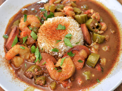 Best gumbo and Creole food at Dooky Chase's in New Orleans