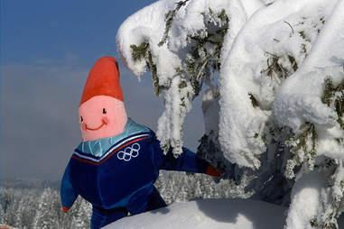 Olympic Mascot Albertville