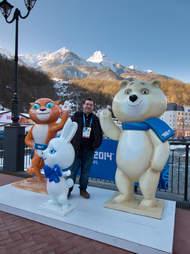 Olympic Mascots Sochi