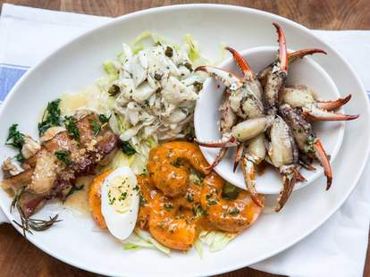 Great French and Creole food and brunch at Tableau in New Orleans