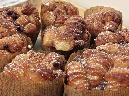 muffins from semi sweet bakery downtown los angeles