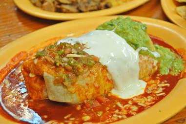 San Francisco mission burrito