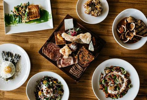 New American tapas and great cocktails at Trust in San Diego