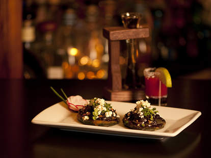 Mexican tapas and great cocktails at El Agave in San Diego