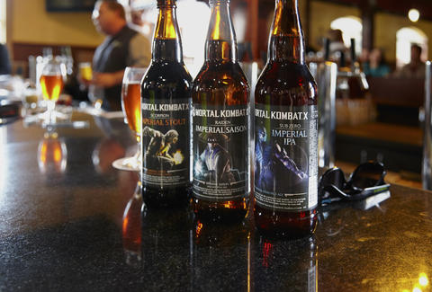 Mortal Kombat beer