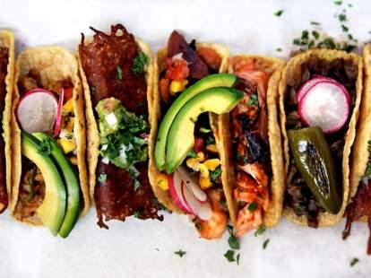 Blue Light San Francisco tacos