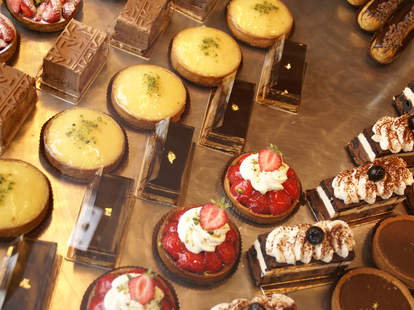 French pastries and cakes at Maurice in New Orleans