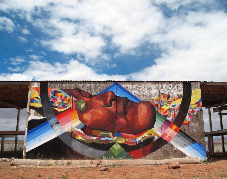 Navajo mural